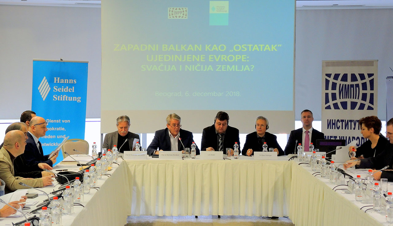 Conference – The Western Balkans as 'residue' of the United